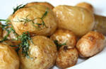 домашний картофель гарнир