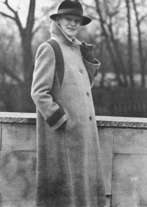 Женская Мода - шьем сами пальто Модная.